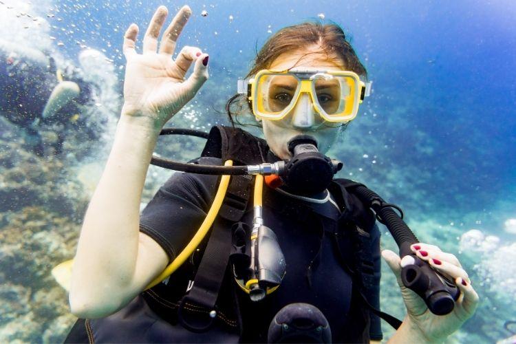 dive sites in Spain