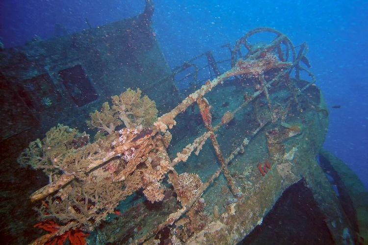 Jordan wreck diving